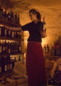 wine-cellar in Chianti